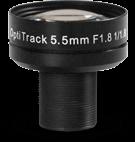 5.5mm F#1.8 Lens - 1/1.8 Inch - M12 Thread