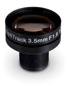 3.5mm F#1.6 Lens - 1/3 Inch - M12 Thread
