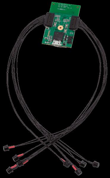 PCB and LEDs (Assembled)