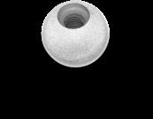 Marker: 12.7mm (1/2), M4 thread - 10 pack
